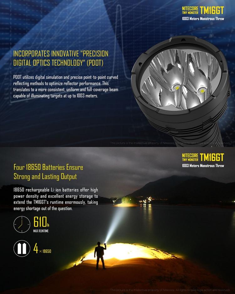 Lampe torche longue port e 1 km design de maison - Lampe torche puissante longue portee ...